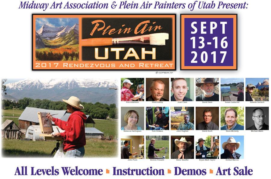 Plein Air Utah 2017
